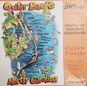 Outer Banks North Carolina Puzzle